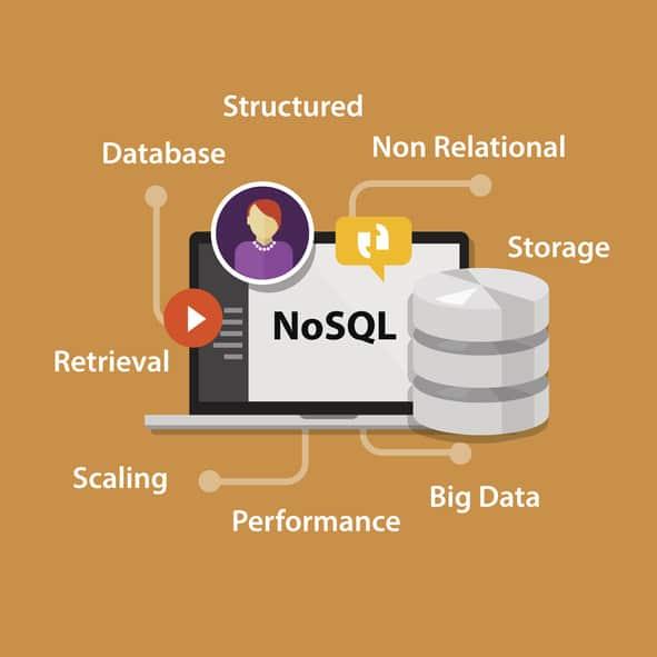 NoSQL non relational database concept
