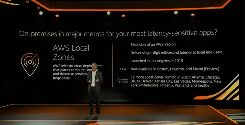 New AWS Local Zones